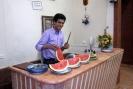 Having watermelon in Abyaneh