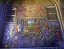Chehelsotoon palace paintings