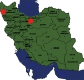 map two revolutions one coup Iran