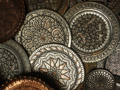 copper-work-Isfahan-Bazzar